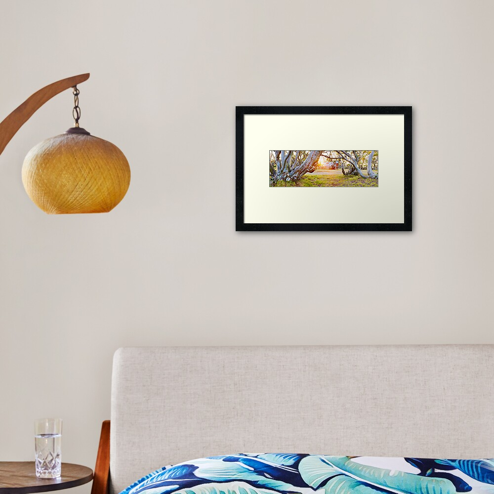 Wallace Hut, Falls Creek, Victoria, Australia Framed Art Print