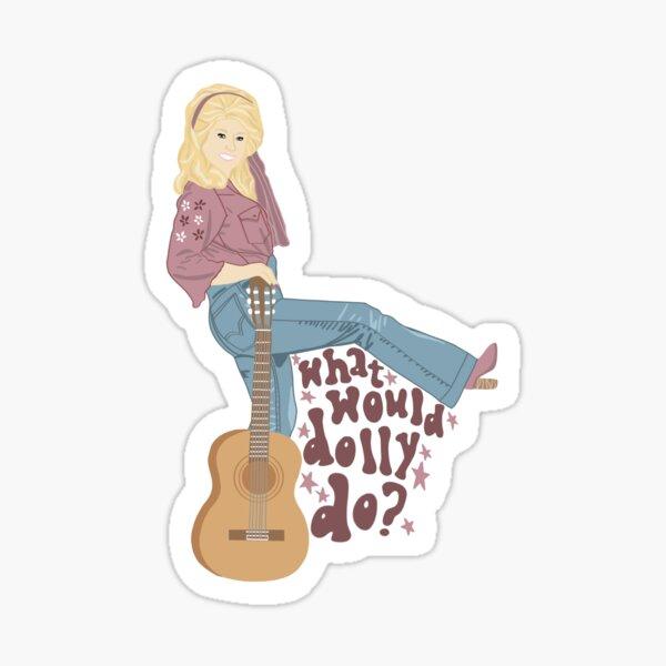 Was würde Dolly tun? Sticker