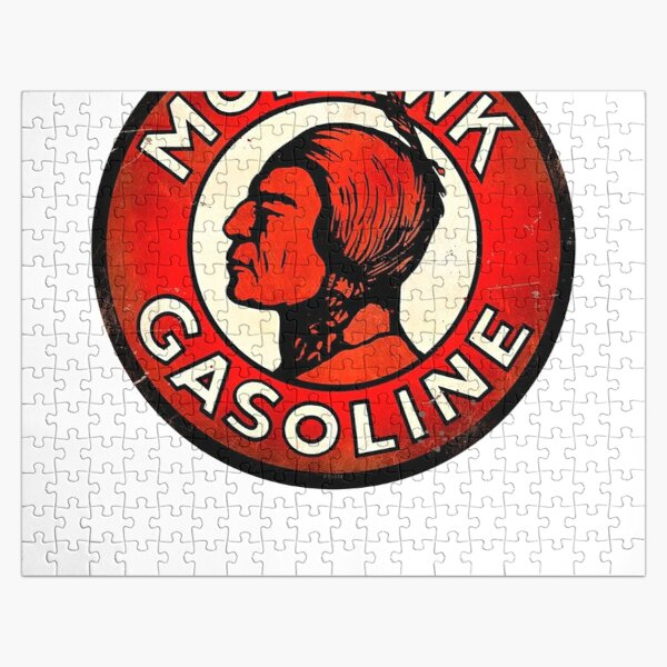 Mohawk Gasoline Emblem Jigsaw Puzzle