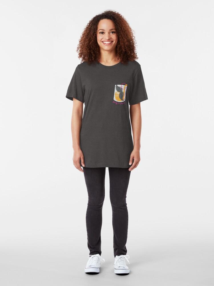 Alternate view of Always be prepared Slim Fit T-Shirt