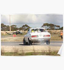 Oz Gymkhana #40 Old School Datsun Poster