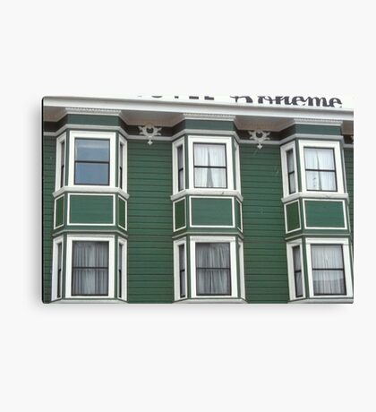 Hotel Boheme' en San Francisco Canvas Print