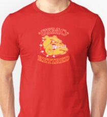 US MARINE CORPS RETIRED BULLDOG Unisex T-Shirt