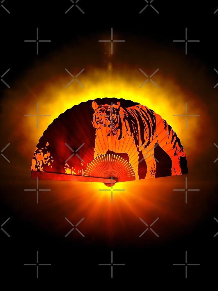 Asian subjects; Motive: Tiger by cglightNing