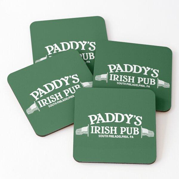 Paddy's Irish Pub Coasters (Set of 4)