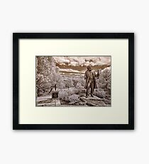 Olmsted at Arboretum Framed Print