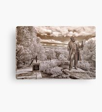 Olmsted at Arboretum Metal Print