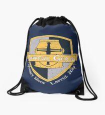 Lawful Good Tee Drawstring Bag