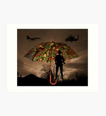 UNDER COVER -PICTURE/CARD Art Print