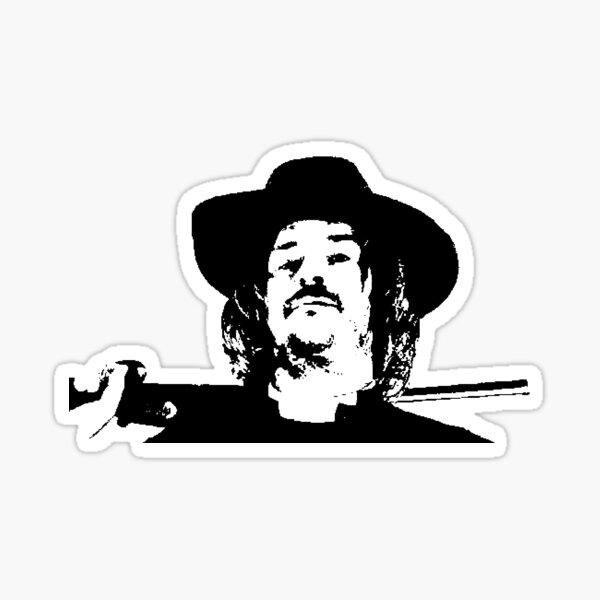 Preacher Man Pop Art Sticker
