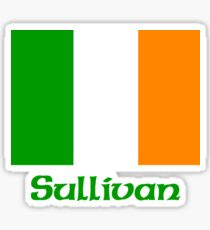 Sullivan Irish Flag Sticker