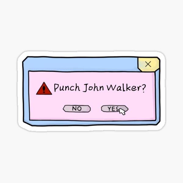 punch him? Sticker