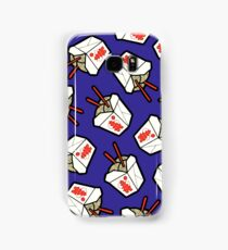 Take-Out Noodles Box Pattern Samsung Galaxy Case/Skin