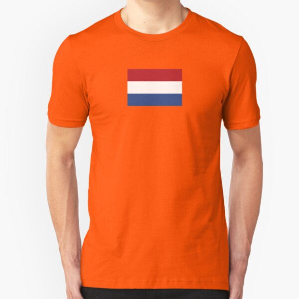 The Netherlands Flag - Dutch T-Shirt Slim Fit T-Shirt