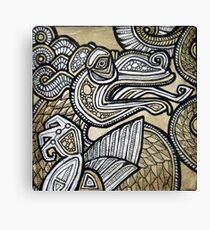 Small Inkling II Canvas Print