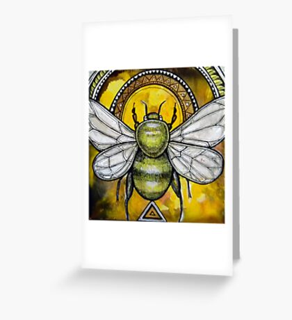 Bee Ascendant Greeting Card