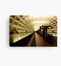 National Archives Metro Station Canvas Print