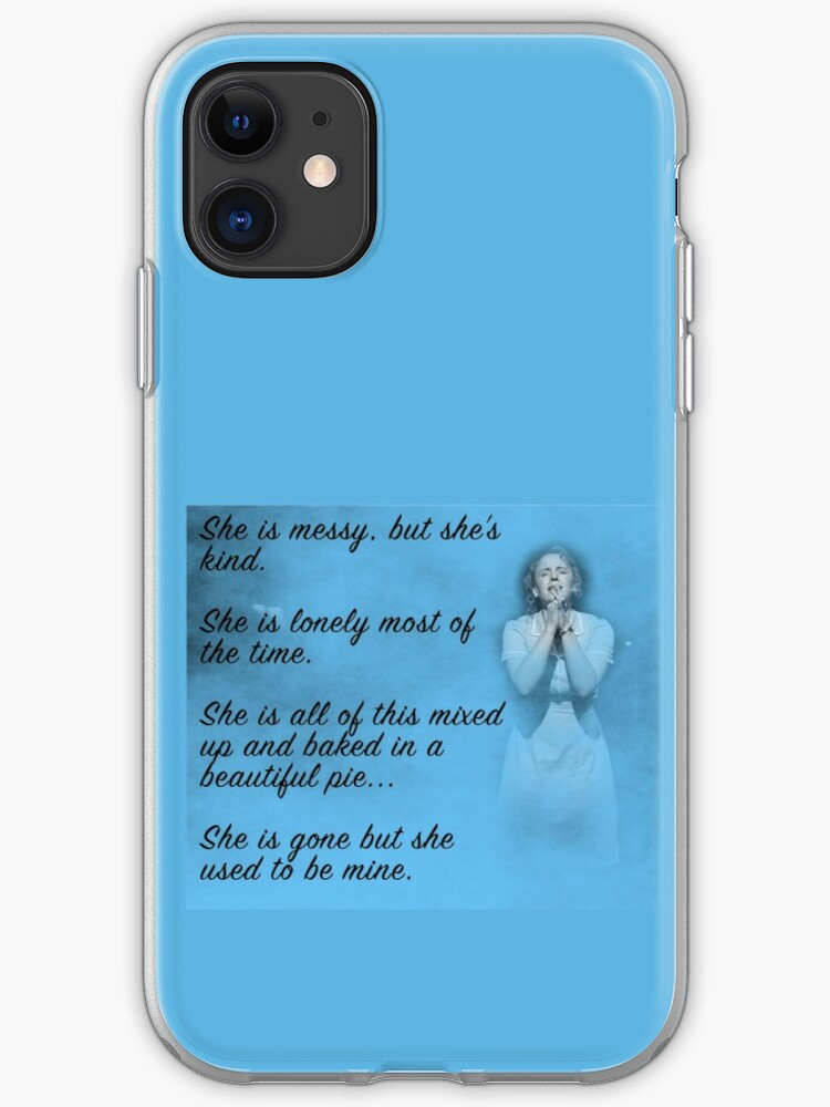 She's Gone iphone 11 case