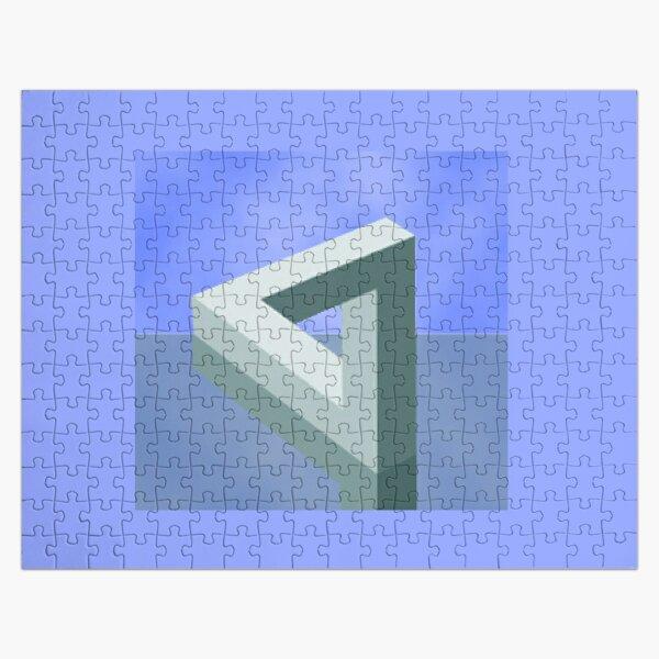Optical Illusion, visual illusion, cognitive perception Jigsaw Puzzle