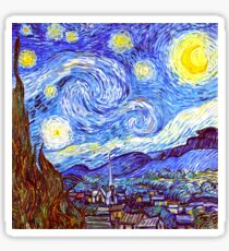 The Starry Night HDR Sticker