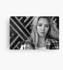 HyoYeon SNSD Girls' Generation KPOP Canvas Print