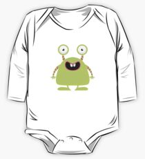 Cute Silly Monster Thing One Piece - Long Sleeve