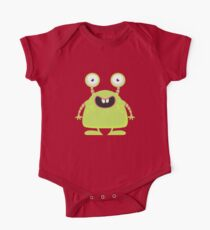 Cute Silly Monster Thing One Piece - Short Sleeve
