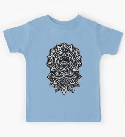 Eye of God Flower Mandala Kids Clothes