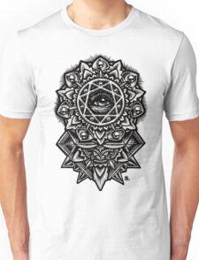 Eye of God Flower Mandala Unisex T-Shirt