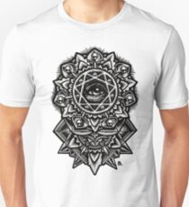 Eye of God Flower Mandala Unisex T-Shirt
