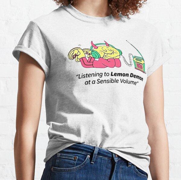 Listening To Lemon Demon At a Sensible Volume Classic T-Shirt