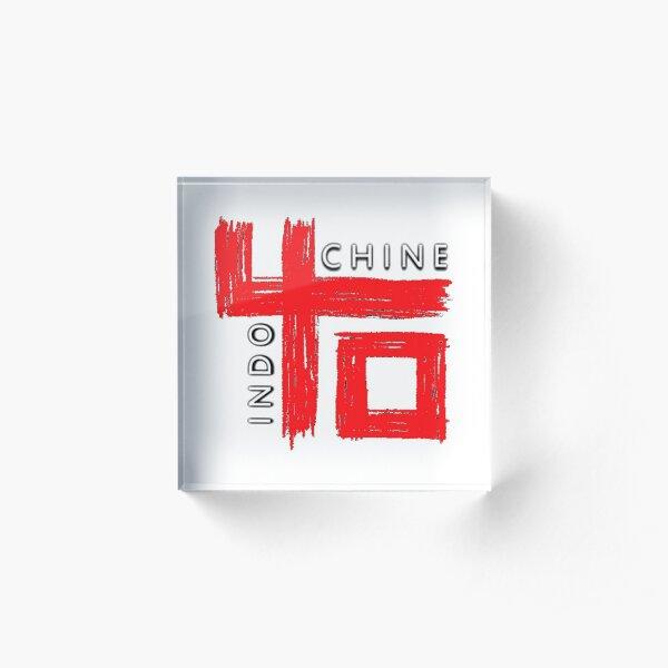 bande indochine à logo la plus vendue Bloc acrylique