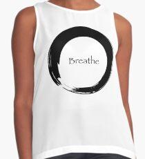 Atme das Symbol des Zen Kontrast Top