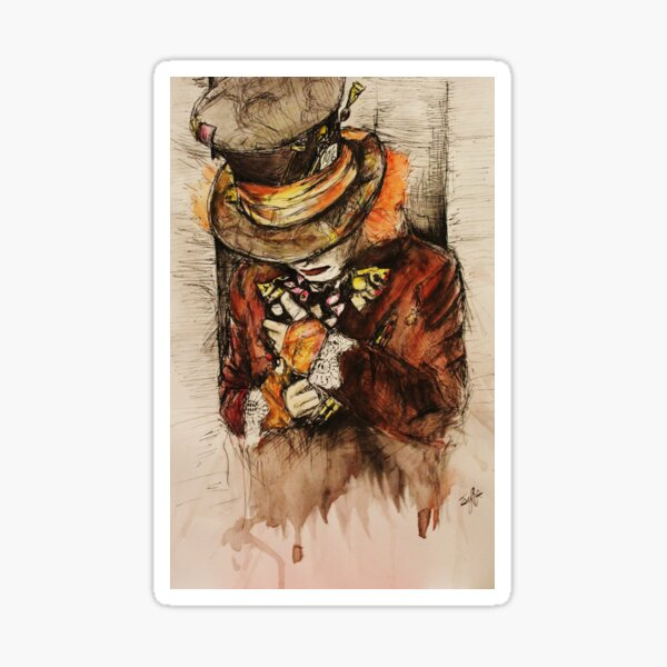 hatter Sticker
