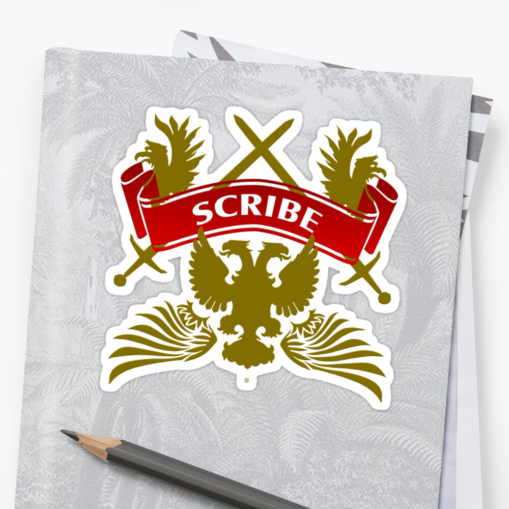 The Scribe Coat-of-Arms by Vy Solomatenko