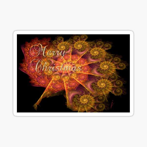 Christmas Card No. 1 Sticker