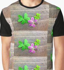 Purple Oxalis Graphic T-Shirt