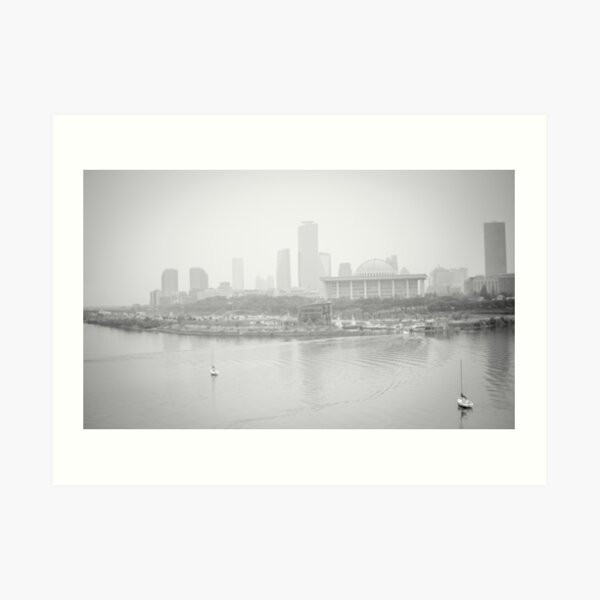 Foggy Afternoon Art Print