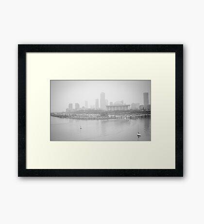 Foggy Afternoon Framed Print