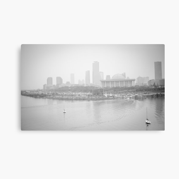 Foggy Afternoon Canvas Print
