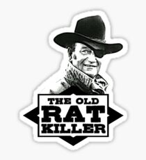 The Old Rat Killer Sticker
