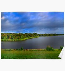 Texas Lake in HDR Poster