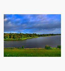 Texas Lake in HDR Photographic Print