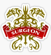 The Surgeon Coat-of-Arms Sticker