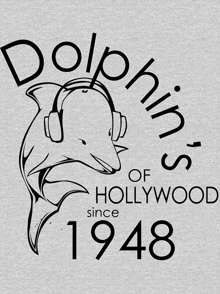 Dolphin's Of Hollywood Tshirt 1 by Jaydda32