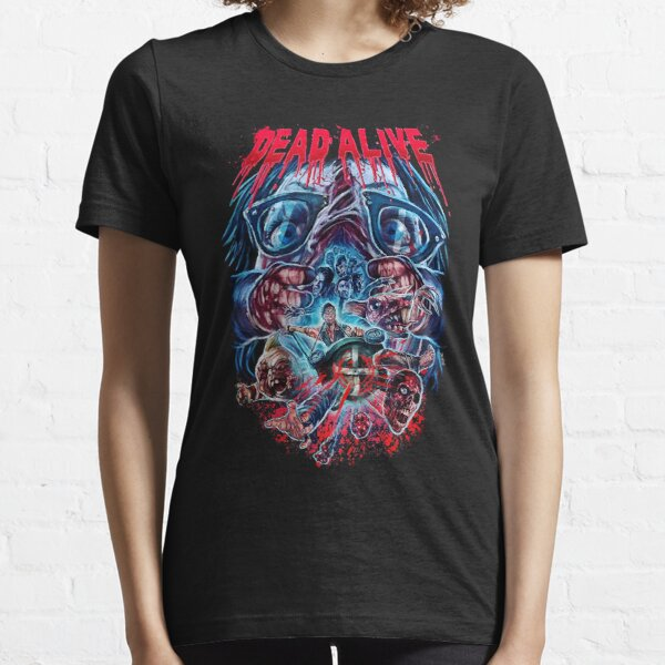 Dead Alive Braindead Gore Horror Movie Peter Jackson T-Shirts Gift For Fans, For Men and Women Essential T-Shirt