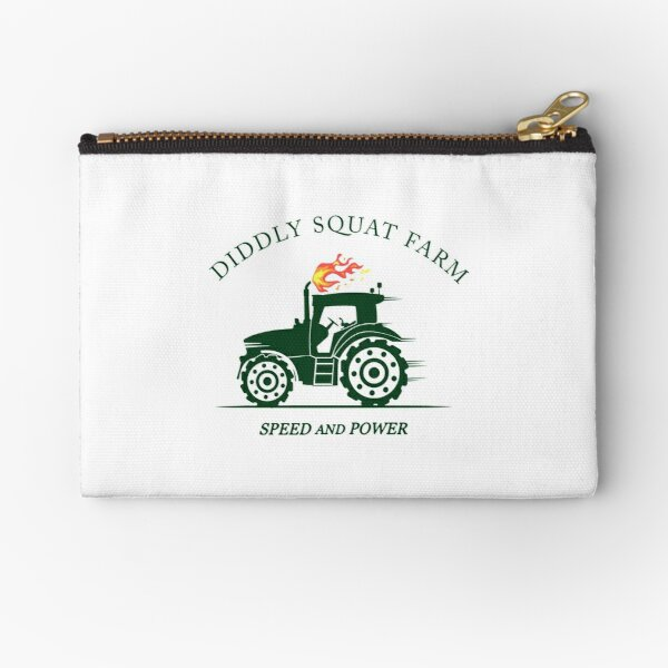 Diddly Squat Farm Green T-Shirts Gift For Fans, For Men and Women Zipper Pouch