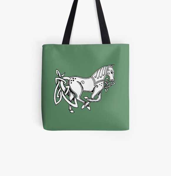 Celtic Horse All Over Print Tote Bag