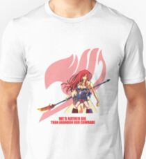 Erza Scarlet - Fairy Tail T-Shirt