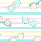 Summer Stripes and Sunglasses by SpiceTree